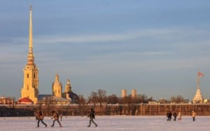 The Peter and Paul Fortress is the citadel of St. Petersburg, founded by Peter the Great.