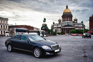 Chauffeurdienst in St. Petersburg
