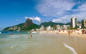 Ipanema Beach Rio City Tour