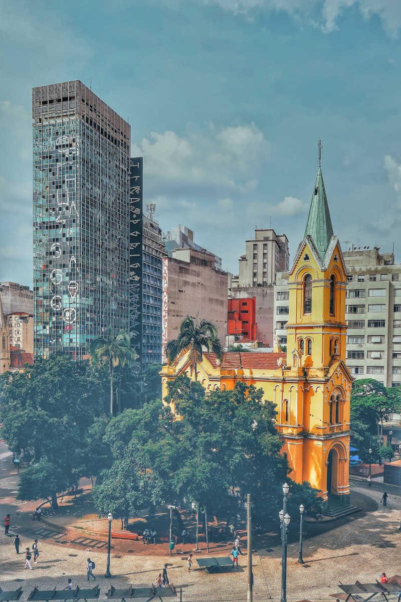 Church in Sao Paulo