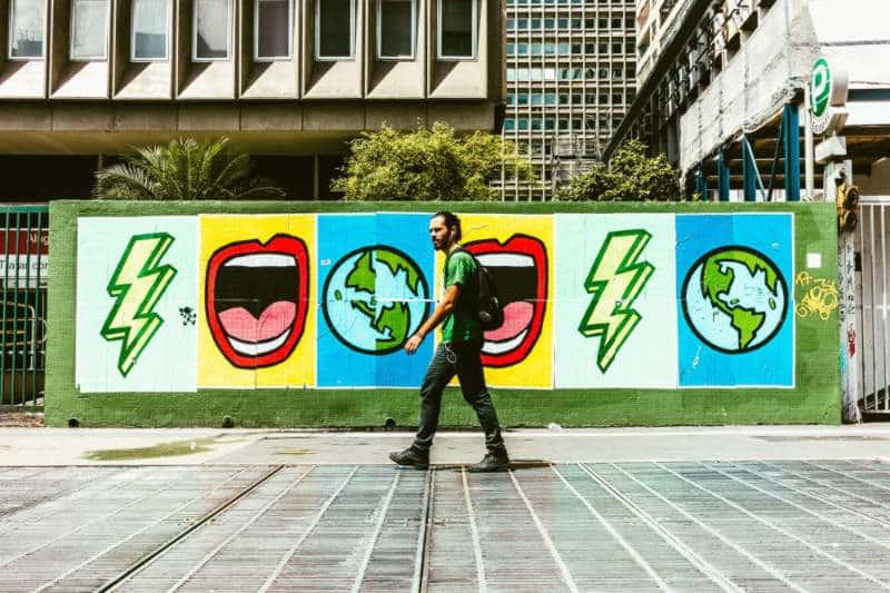 Street Art Sao Paulo Paulista Avenue