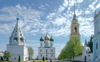 Kolomna Cathedral Square